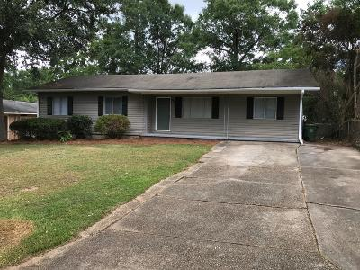 Hattiesburg MS Single Family Home For Sale: $99,900