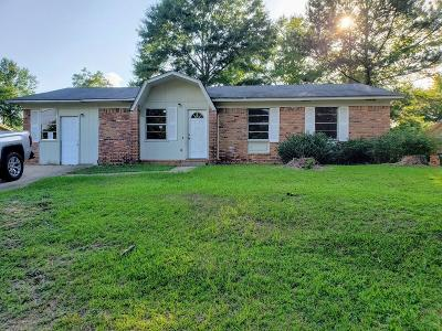 Hattiesburg Single Family Home For Sale: 307 Lakewood