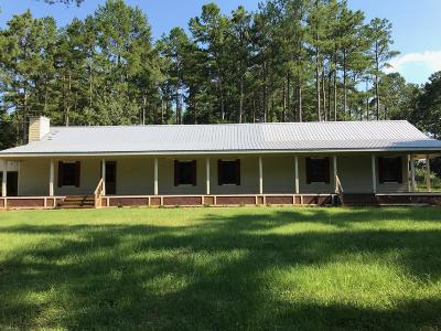 Jefferson Davis County Single Family Home For Sale: 519 Ed Parkman Rd.