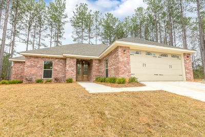Purvis Single Family Home For Sale: 9 Chariot Ct.