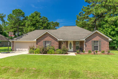Purvis Single Family Home For Sale: 14 Orange Orchard
