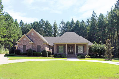 Hattiesburg MS Single Family Home For Sale: $519,000