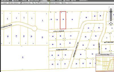 Petal Residential Lots & Land For Sale: Lot 15 Little John