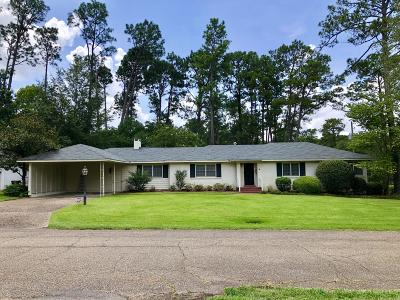 Hattiesburg Single Family Home For Sale: 2010 Ridgeway Ln.