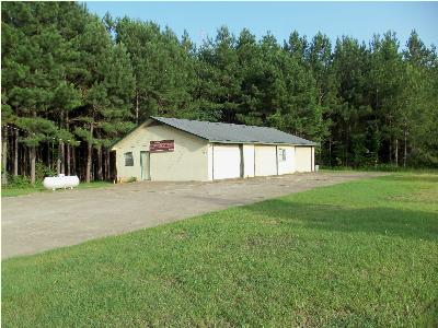 Attala County Commercial For Sale: 310 Black Jack Rd