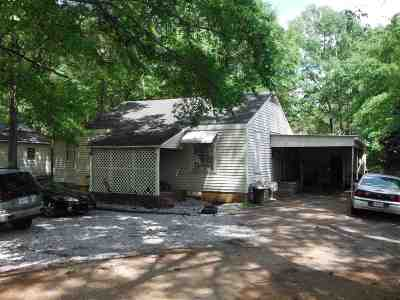 Carthage MS Single Family Home For Sale: $50,000