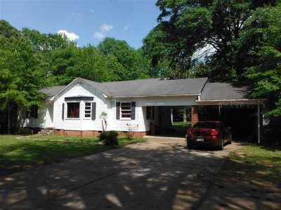 Carthage MS Single Family Home For Sale: $75,000