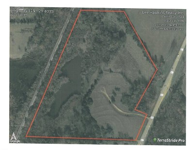 Madison County Commercial For Sale: Highway 51
