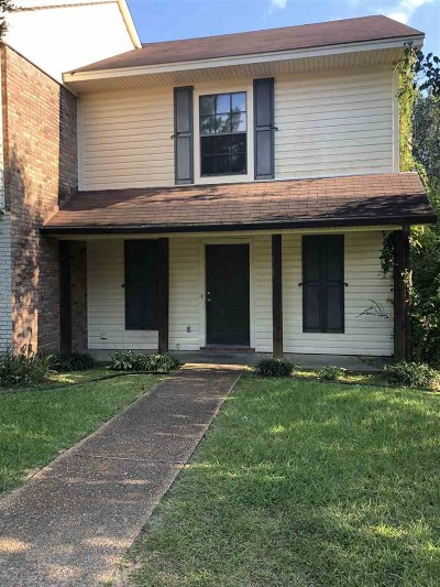 Jackson Townhouse For Sale: 2431 River Oaks Blvd #B