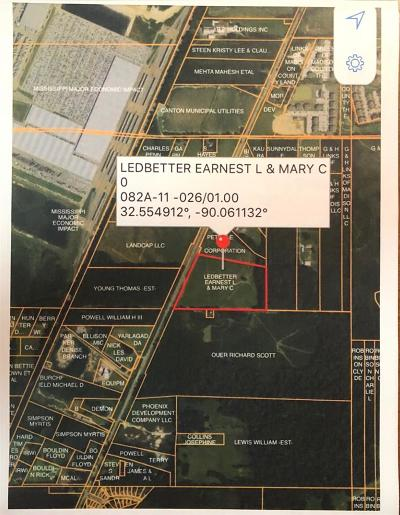 Canton Residential Lots & Land For Sale: 28 Hwy 51 Hwy