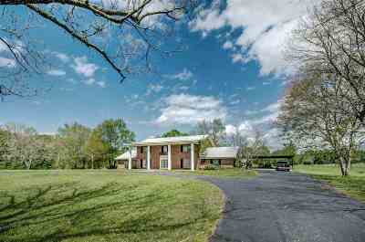 Canton Single Family Home Contingent: 2435 Highway 43 Hwy