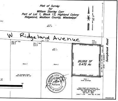 Ridgeland Residential Lots & Land For Sale: Sunnybrook Rd
