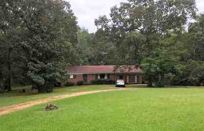 Leake County Single Family Home For Sale: 6491 County Line Rd
