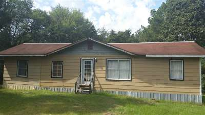 Carthage MS Single Family Home For Sale: $32,800