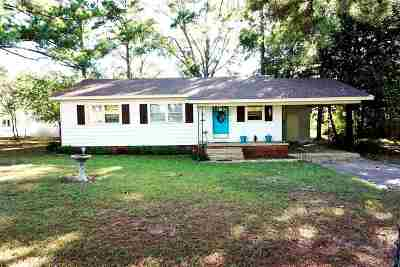 Neshoba County Single Family Home Contingent/Pending: 548 State Blvd