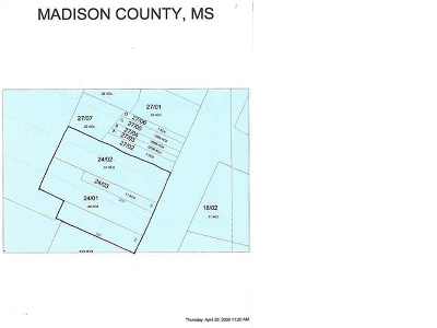 Ridgeland Residential Lots & Land For Sale: 12 Hwy 51 Hwy