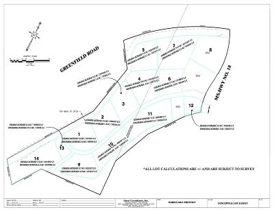 Residential Lots & Land Contingent/Pending: Highway 18 Hwy