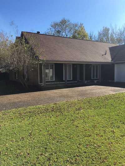 Jackson Single Family Home For Sale: 5833 Kristen Dr