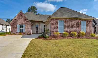 Flowood Single Family Home Contingent: 202 Grace Dr