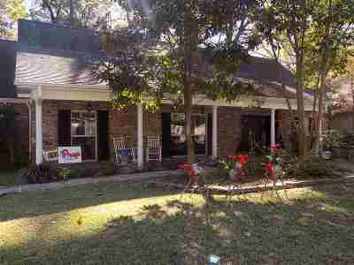 Jackson Single Family Home For Sale: 5311 Reddoch Dr