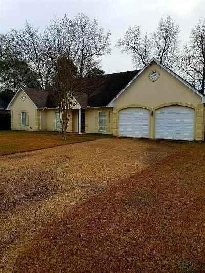 Hinds County Single Family Home For Sale: 1825 Lake Trace Dr