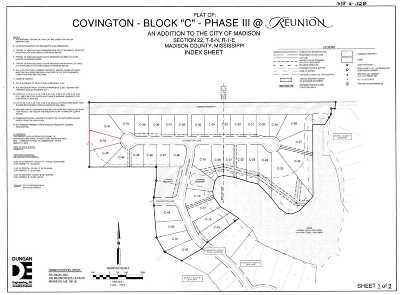 Madison Residential Lots & Land For Sale: 300 Covington Cv