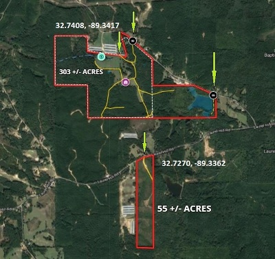 Leake County Residential Lots & Land For Sale: 2346 Comans Rd