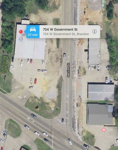 Brandon Commercial Contingent: 704 W Government St
