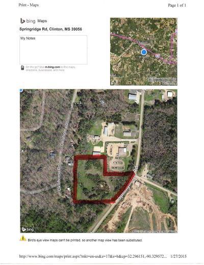 Clinton Residential Lots & Land For Sale: Springridge Dr