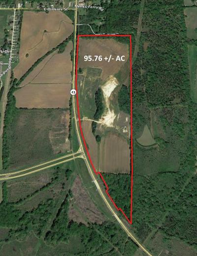 Canton Residential Lots & Land For Sale: 1 Highway 43 Hwy