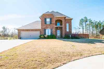 Flowood Single Family Home For Sale: 286 Bellamy Ct