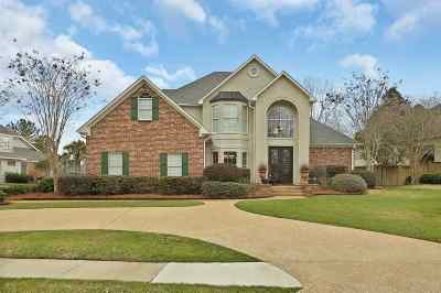 Brandon Single Family Home For Sale: 117 Woodlands Green Dr