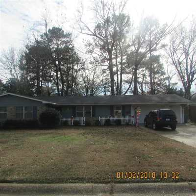 Jackson Single Family Home For Sale: 1203 Springdale Dr