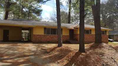 Jackson Single Family Home For Sale: 5444 Ridgewood Rd