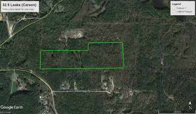 Leake County Residential Lots & Land For Sale: Pleasant Grove Rd