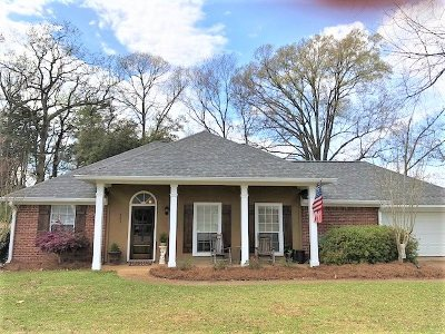 Flowood Single Family Home Contingent/Pending: 443 Hemlock Dr