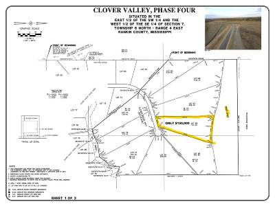 Brandon Residential Lots & Land For Sale: Lot 68 Clover Ridge Way