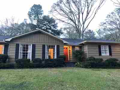 Hinds County Single Family Home Contingent/Pending: 3960 Nassau St