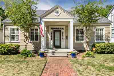 Jackson Single Family Home For Sale: 1525 St. Ann St