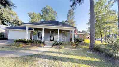Flowood Single Family Home For Sale: 18 Estates Dr