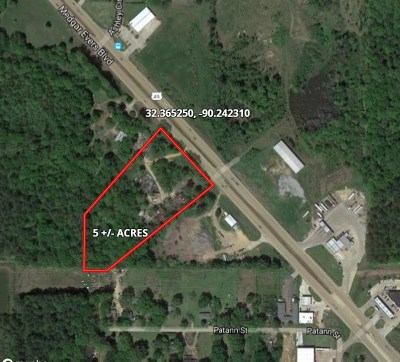 Jackson Residential Lots & Land For Sale: Medgar Evers Blvd