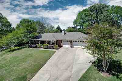 Clinton Single Family Home Contingent: 111 Spanish Moss Dr