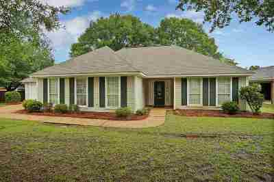 Flowood Single Family Home Contingent/Pending: 431 Olympic Dr
