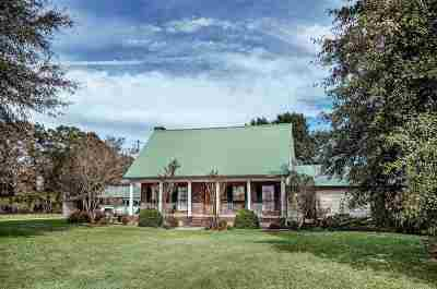 Mendenhall Single Family Home Contingent/Pending: 290 Simpson Hwy 540