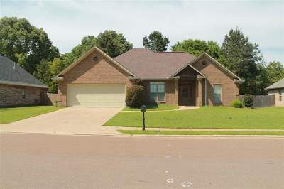 Hinds County Single Family Home Contingent/Pending: 857 Creston Dr