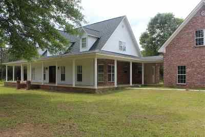 Jefferson Davis County Single Family Home For Sale: 7241 Hwy 35 Hwy