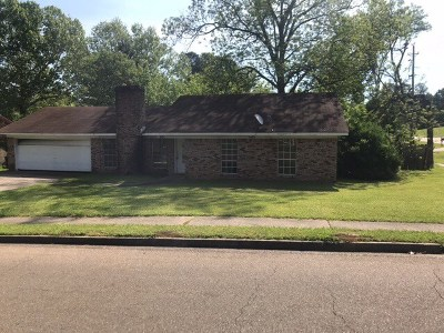 Hinds County Single Family Home Contingent/Pending: 801 Longwood Pl