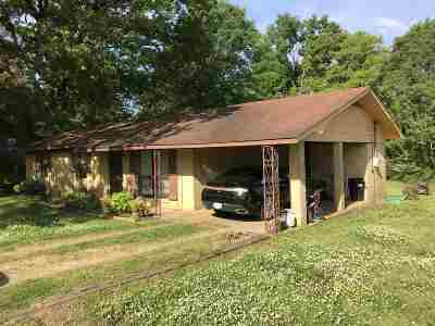 Carthage MS Single Family Home For Sale: $59,900