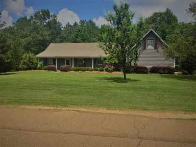 Hinds County Single Family Home Contingent/Pending: 124 Falcon Ridge Dr
