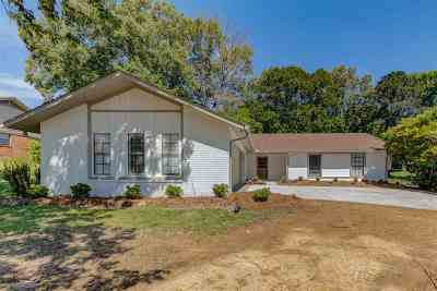 Hinds County Single Family Home Contingent/Pending: 307 Parker Dr